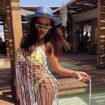 Гери-Никол на тузарска почивка в Дубай